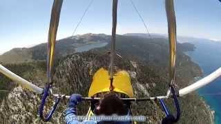 Paul Hamilton flight to Lake Tahoe in Trike Part 3