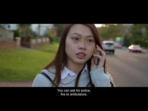 4  Reporting Crime English subtitles