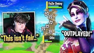 Clix FURIOUS After FaZe Sway Uses Aim Assist BUFF in 1v1... (Fortnite)