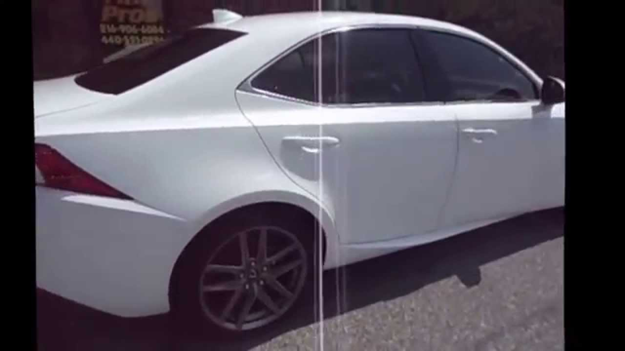 2014 Lexus Is 250 3m Window Tint 35 All Side And Rear