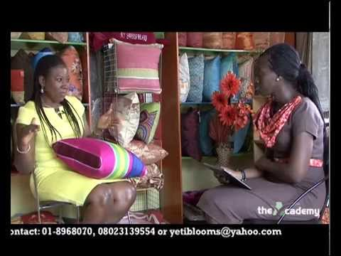 BUSINESS SECTOR 5: Manufacturing Sector - CEO, Blooms Soft Furnishing