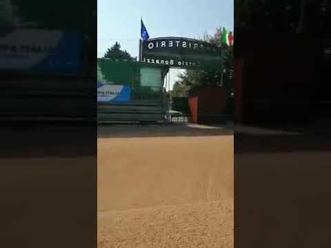Preparazione campo Finali Nazionali di Coppa Italia Open