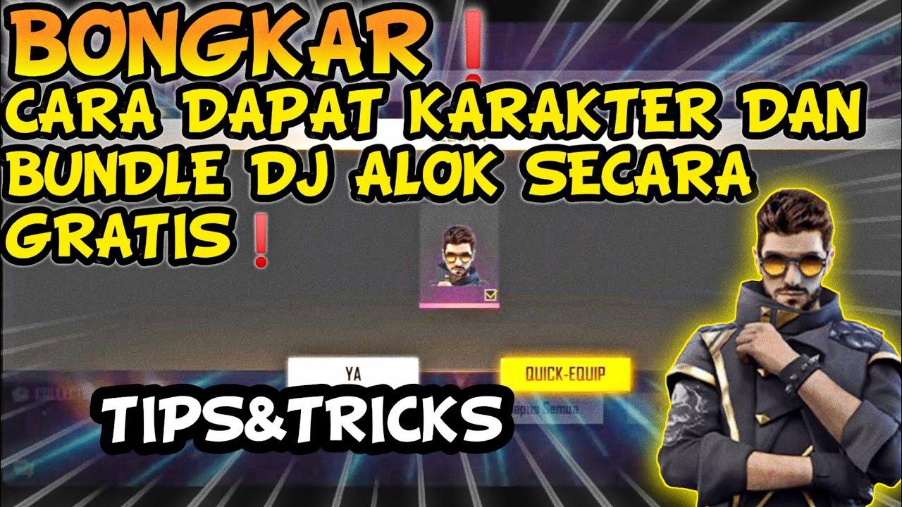 BONGKAR❗CARA DAPATKAN KARAKTER DAN BUNDLE DJ ALOK SECARA GRATIS TERBARU 2020