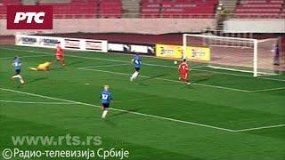 Srbija - Estonija 6:0, Het-trik Joveljića