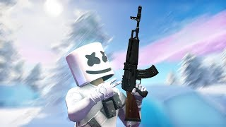 MARSHMELLO HAS GOT HIS OWN SKIN IN FORTNITE! (LIVE FORTNITE EVENT TODAY!)