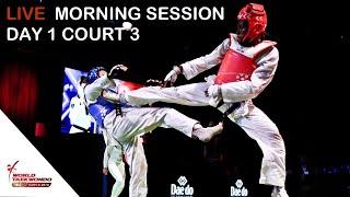 Sofia 2019 World Taekwondo Grand Prix Day 1 Court 3 Session 1