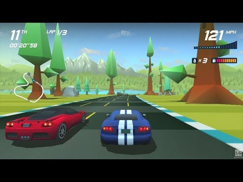 Horizon Chase Turbo - PS4 Gameplay (1080p60fps)