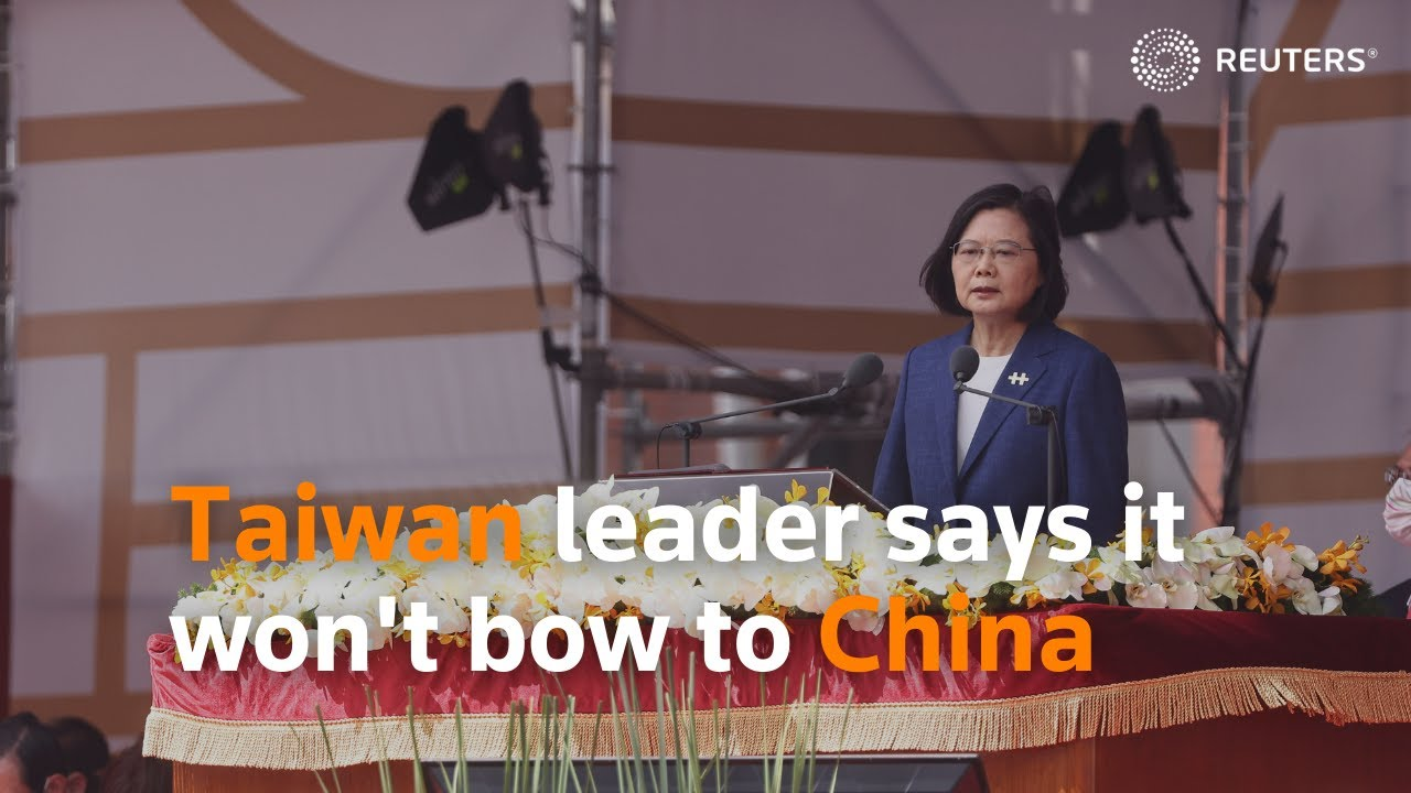 Taiwan leader says it won't be forced to bow to China - WAR IS IMMINENT!