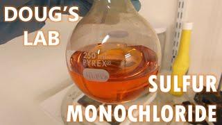 Sulfur Monochloride (Disulfur Dichloride)