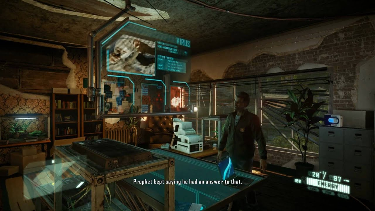 Crysis 2 Mission 5 Lab Rat Hd Pc Ps3 Xbox 360 Maxed Out