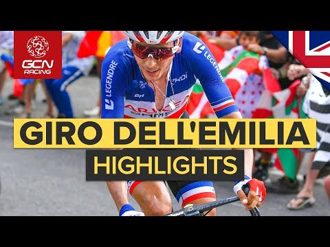 Giro dell'Emilia 2019 Highlights | Italian Autumn Classic | GCN Racing from YouTube · Duration:  3 minutes 51 seconds