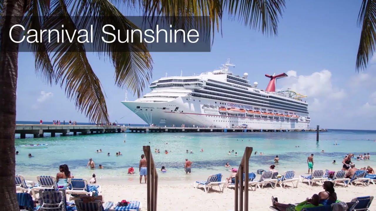 Carnival Sunshine Highlights Youtube