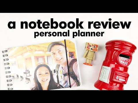 Review: Personal Planner Notebooks
