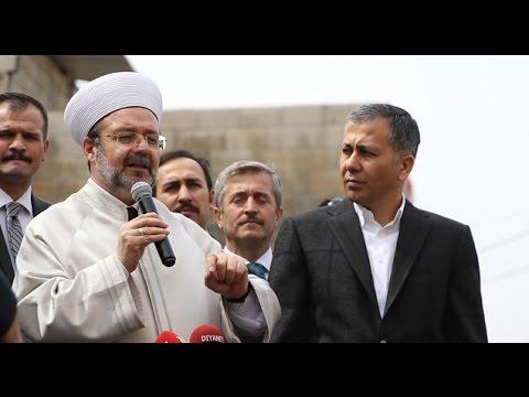 Diyanet İşleri Başkanı Prof. Dr. Mehmet Görmez, Kudüs'te Ezan yasağına tepki gösterdi.