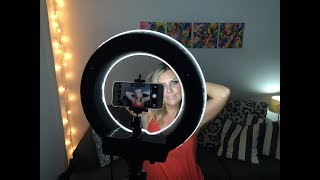 Đèn led hình tròn để quay make up, làm vlog Led Ring 12inch