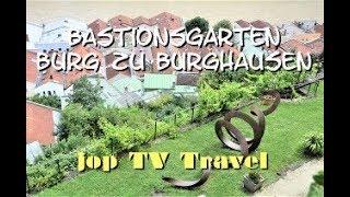 Rundgang durch den Bastionsgarten Burg zu Burghausen (Bayern) Deuschland Reisebilderbuch