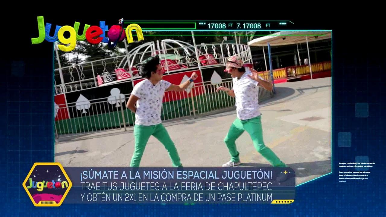 Promo La Feria De Chapultepec Jugueton 2018
