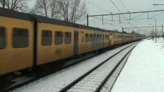 Dutch(the Netherlands Railways) plan V and T Trains,Seldom at Blerick,the NL