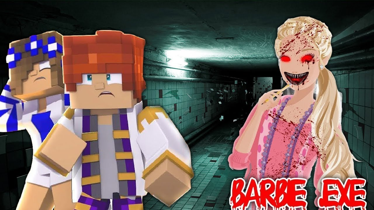 LEO AND LITTLE CARLY SAVE LITTLE KELLY FROM BARBIE.EXE | Minecraft FAMILY LIFE | w/LittleCarly
