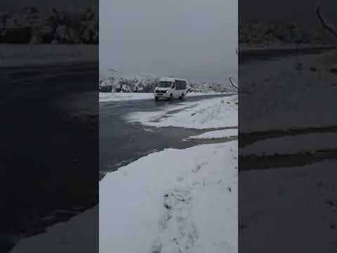 Neve en Santa Baia de Montes, Cualedro
