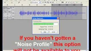 Better Videos - Using Windows Movie Maker and Audacity Sound Editor