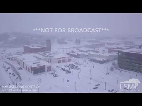 1-22-2018 Sioux City,IA and South Sioux City, NE Drone footage