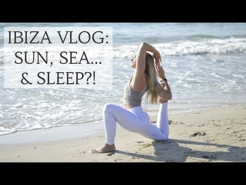IBIZA VLOG | Sun, Sea, Yoga & Sleep! | CAT MEFFAN