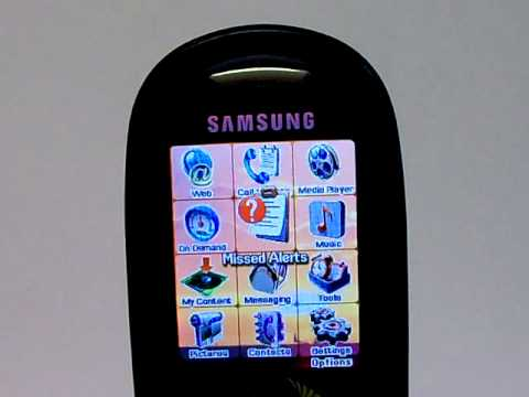 Samsung SphA920 Erase Cell Phone Info - Delete Data - Master Clear Hard Reset
