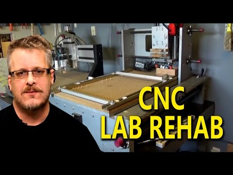 CNC Room Rehab  - The Devil's in the Details