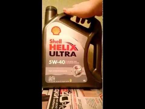 Shell Helix Ultra 5w 40 подделка oilchoice.ru