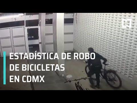 Robo de bicicletas en CDMX; captan robo de bicicleta - Las Noticias