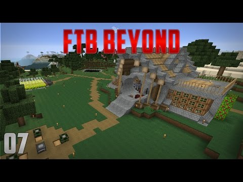 FTB Beyond EP7 Mob Farm + Coffee Automation