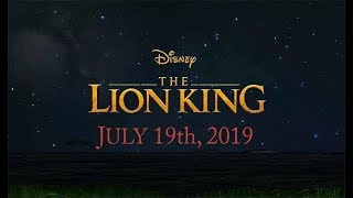 THE LION KING - TEASER (2019)