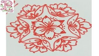 Pongal Kolam Design    Sankranti Muggu    Sankranti Rangoli Design    pongal rangoli