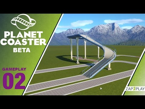 Planet Coaster TUTORIAL  [02] Wegebau - Deutsch