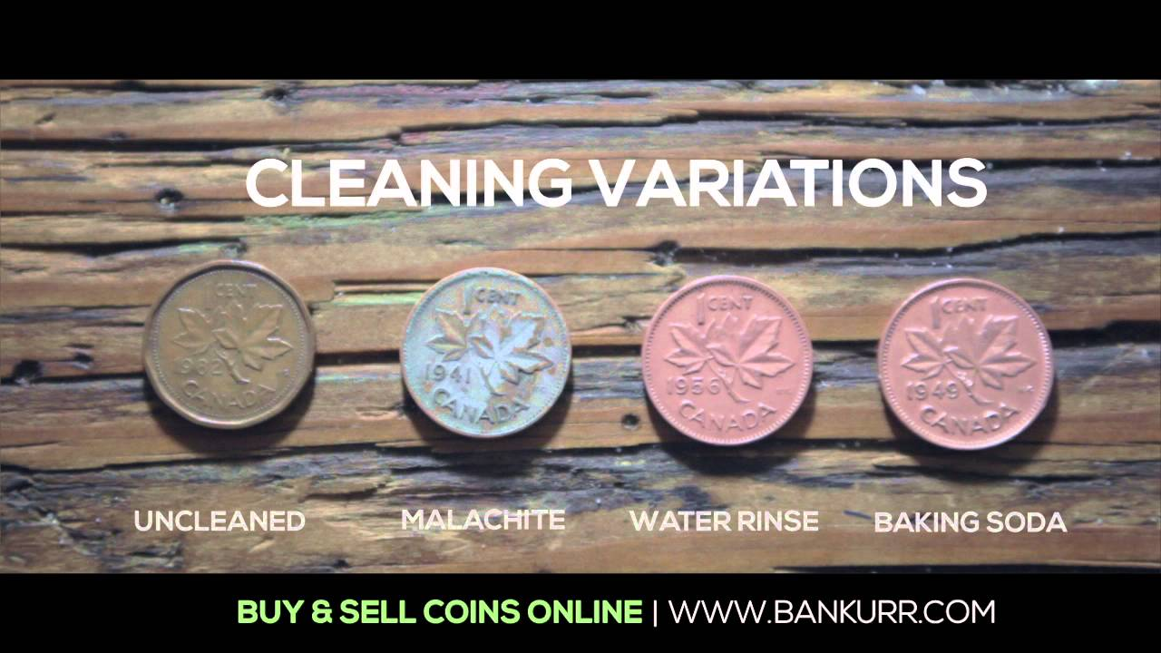 How to Clean Coins  YouTube
