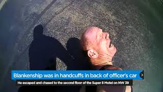 OKC police catch escaping suspect