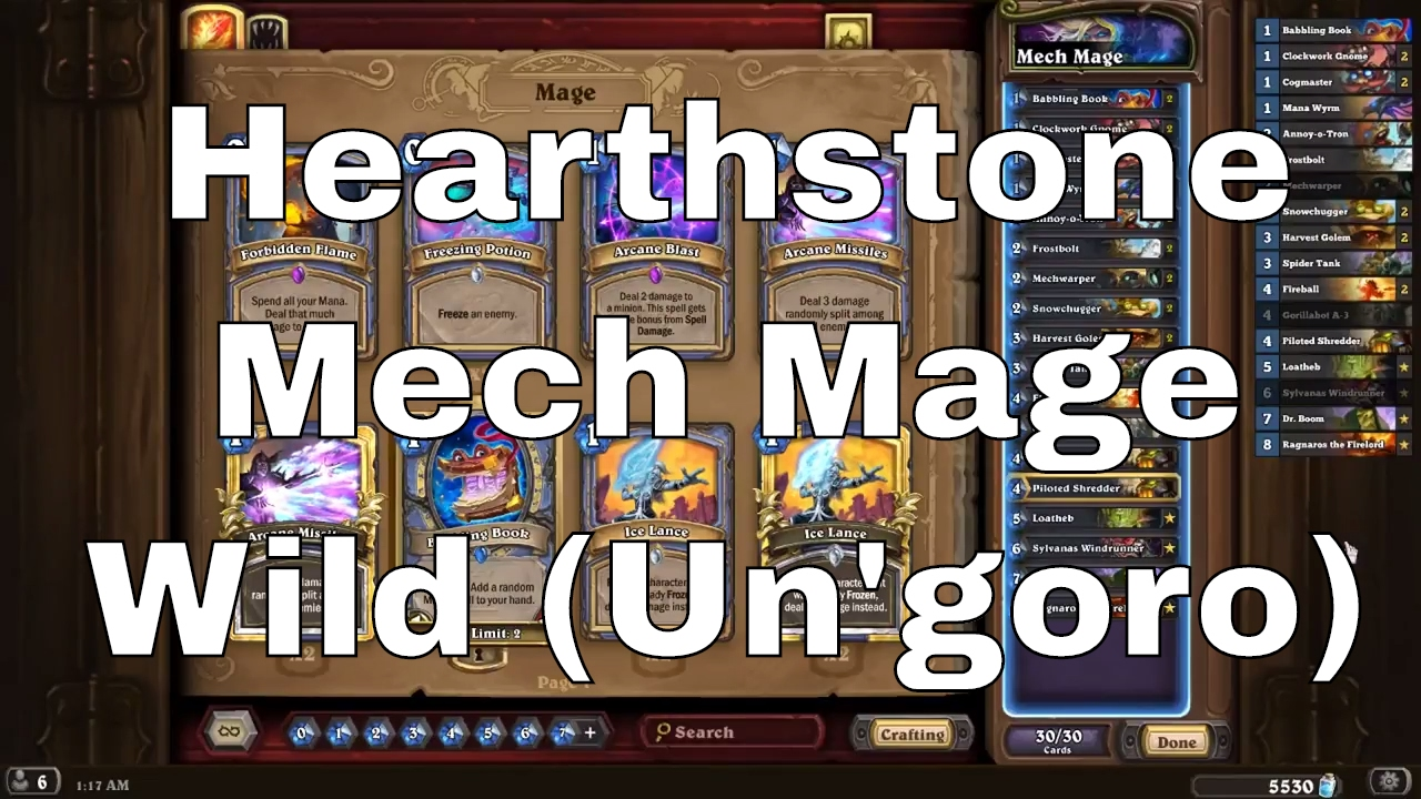 Hearthstone Mech Mage Wild Well Thats What This Is For