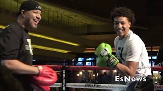 Golden Boy Have A Young Strong Fighter At Light Heavyweight Division EsNews Boxing