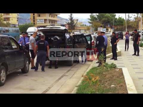 Report TV - Makinat luksoze, policia nis një aksion masiv edhe në Vlorë