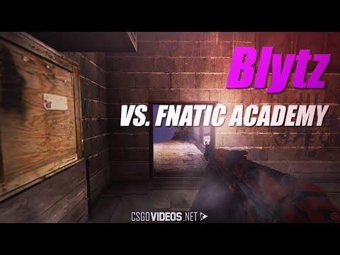 Blytz vs. fnatic Academy - Ace at GOCASE Challenge | CS:GO