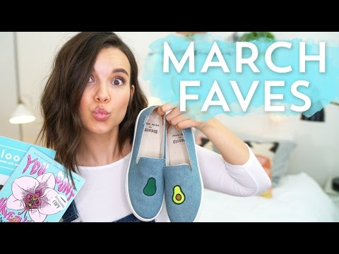March Faves! Makeup, Fashion, Books + More! | Ingrid Nilsen
