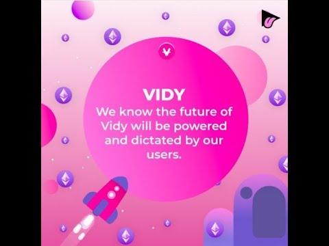 Vidy ICO - Реклама на БЛОКЧЕЙН
