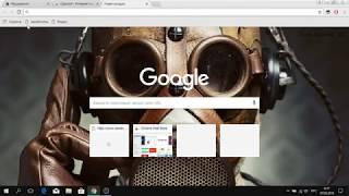 Видео урок (Темы гугл хром)