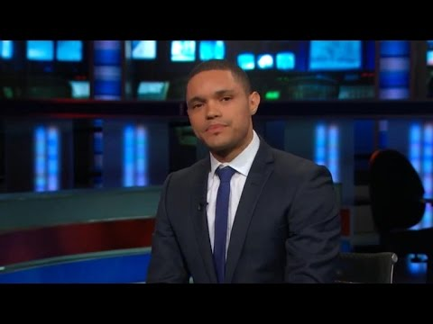 """Daily Show"" names Trevor Noah as new host - YouTube  ""Daily Sho..."