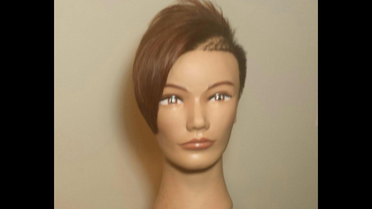 Ruby Rose Inspired Haircut Youtube