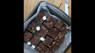 2-minute Smores Fudge | Rookie With A Cookie