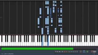Halo   One Final Effort   Synthesia   Piano Tutorial