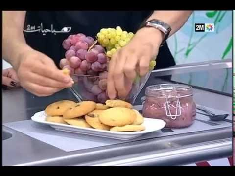 Cuisine arabe mondial Season 1 Prepare honeyed grapes and cookies Balchuklat