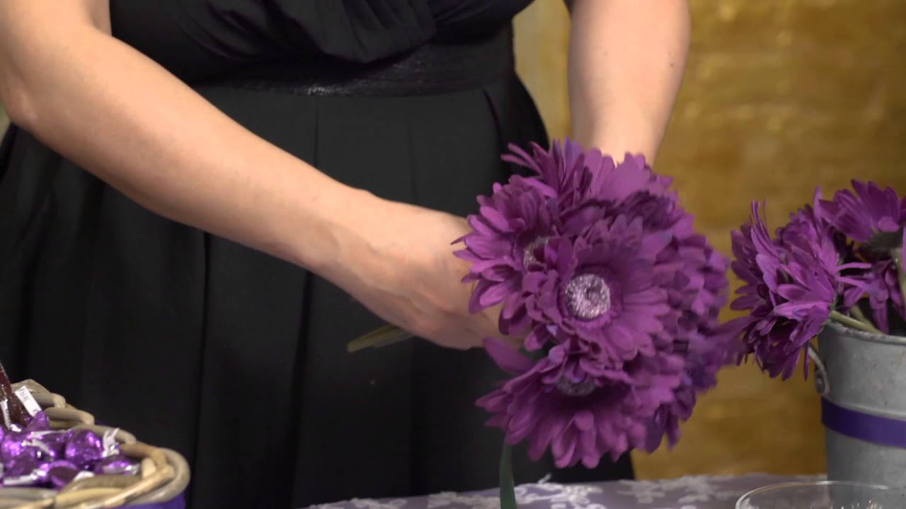 How to Make a Hershey Kisses Flower Bouquet : Event Flowers ...